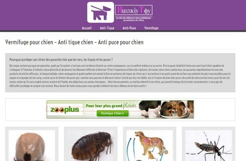 Les produits pour le traitement de vermifuge pour chien